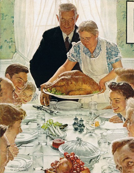 Norman Rockwell Thanksgiving